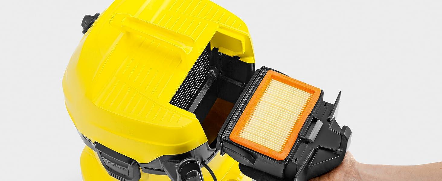 Kärcher Aspirador en seco y húmedo WD 4 Premium - 20L, 1.000W ...