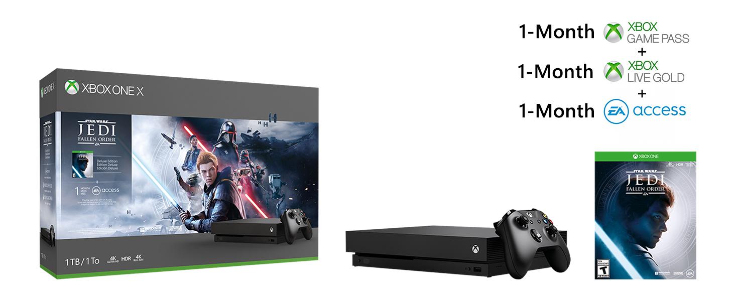 Xbox One X Pack Star Wars Jedi