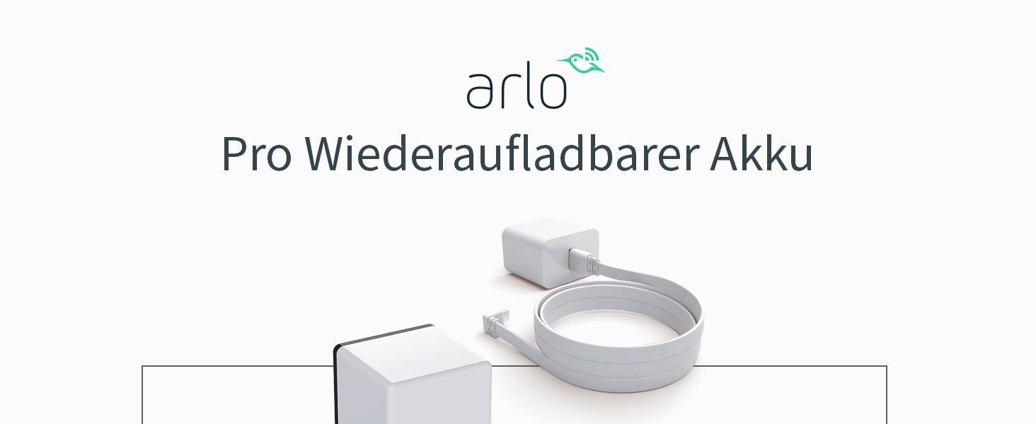 Arlo Zertifiziertes Zubehör Arlo Pro Pro2 Zusatz Akku Zubehör Ladestation Als Zusätzliche Option Erhältlich Geeignet Für Arlo Pro Pro2 Kabellose Überwachungskamera Weiß Vma4400 Baumarkt