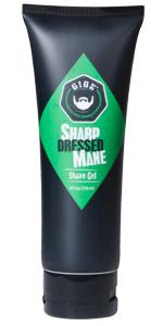 sharp dressed shave gel