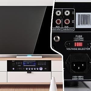 bluetuth microphone;pile amplifier;ub headphones wireless;stereo receiver;echo;4Channel Wireless;