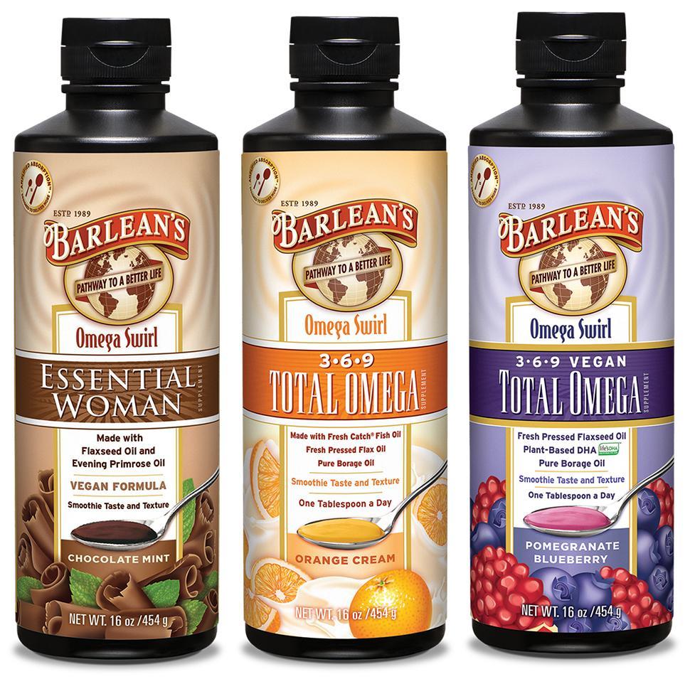 Barlean 39 s organic oils essential woman omega for Barlean s omega swirl fish oil