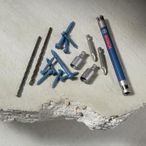 Concrete Screw Installation Bits