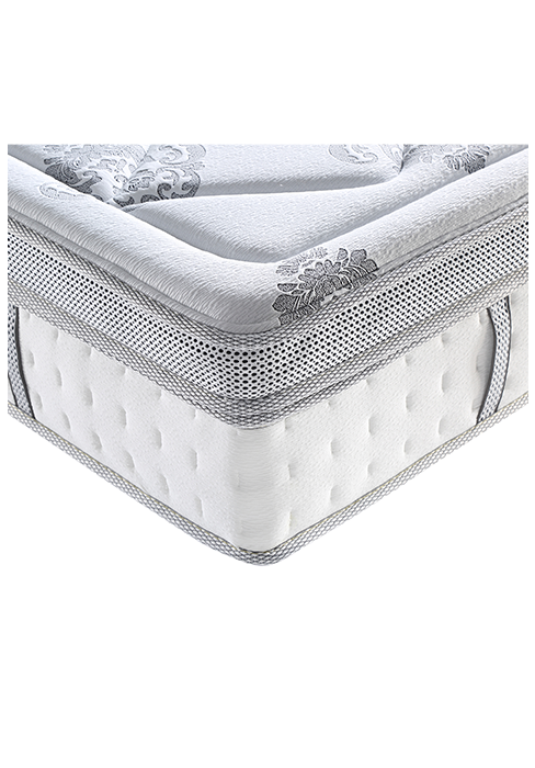 Classic Brands Decker Hybrid Memory Foam and Innerspring 10-Inch Mattress, Twin