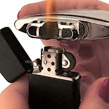 zippo, zippo replacement burner, catalytic burner, 6 hour hand warmers, chrome hand warmer