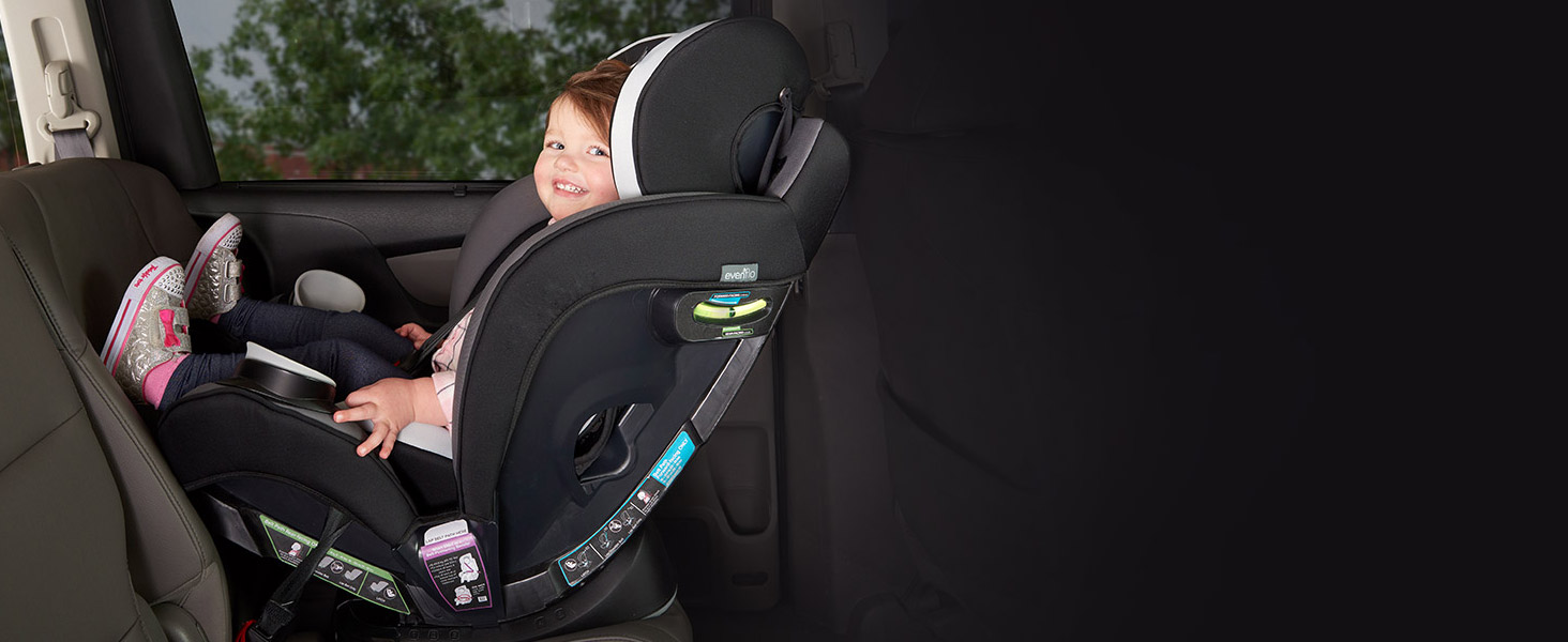 EveryStage Convertible Car Seat allows for Rear-Facing Longer