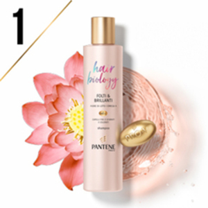 Lo Shampoo Hair Biology Folti & Brillanti aumenta il volume e riempie le radici
