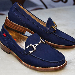 Marc Joseph, New York, Leather, Fashion, Loafer, Buckle, Handcrafted