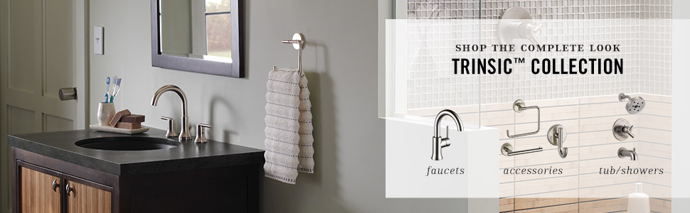 trinsic collection, bathroom faucet collection