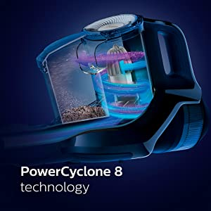 PowerCyclone 8 - our most powerful bagless technology