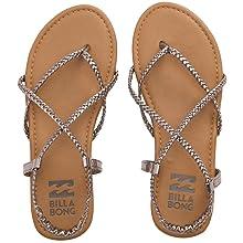 3856a9960 Amazon.com  Billabong Women s Crossing Over 2 Flat Sandal  Shoes