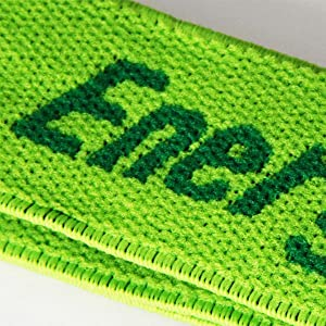 Stretchable, breathable green headband fits most, headband is washable
