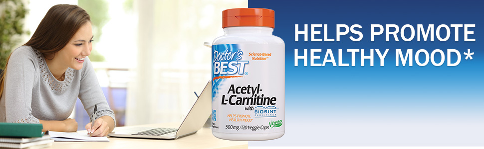 Acetyl - L-Carnitine healthy mood energy nerve