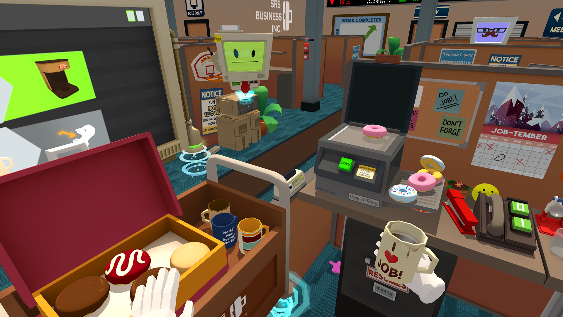 Amazoncom Job Simulator - Playstation Vr Video Games-2652