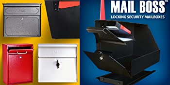 High security locking mailboxes residential USPS approved