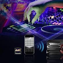 Panasonic SC-AKX320 - Equipo de Sonido de Alta Potencia