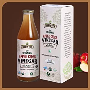 Brewvin Organic and Raw Apple Cider Vinegar 500 ML