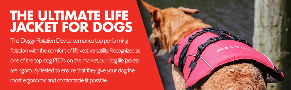 DFD The Ultimate Life Jacket For Dogs