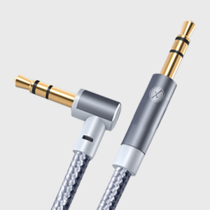Xmate Car Stereo 3.5 mm Male to Male Gold Plated Nylon Braided Aux Audio Cable Stereo Audio Cable