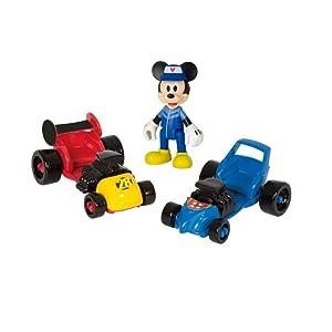 Imc toys garage de mickey imt 182493 disney for Garage qui echange voiture