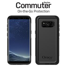 huge discount 5d4d7 0d8b9 OtterBox COMMUTER SERIES for Samsung Galaxy S8+ - Retail Packaging - BLACK