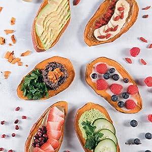 Sahara Rose, Eat Feel Fresh, Ayurveda, Cookbook, Alpha, DK, Sundari Sweet Potato Toast