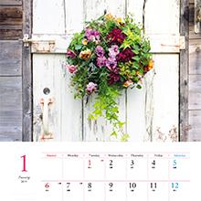 12ヶ月の小さな花のある暮らし Flowers&Plants インプレス カレンダー 2019