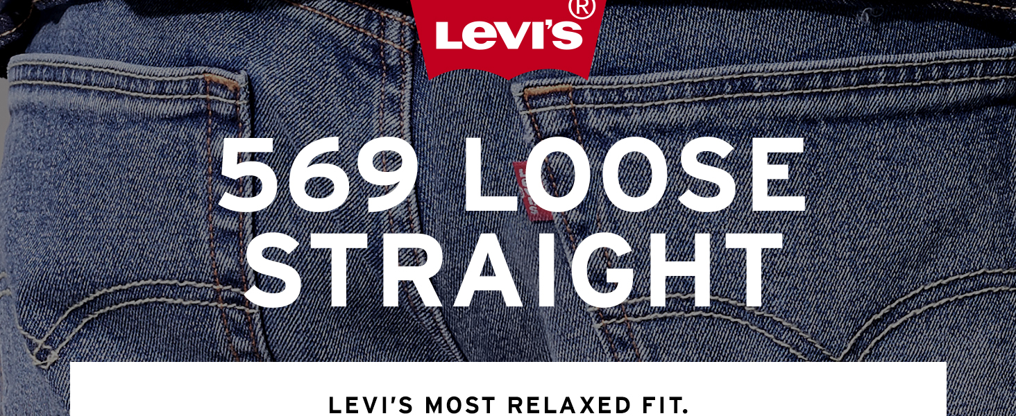 Mens Levis 569 Loose Straight Jean