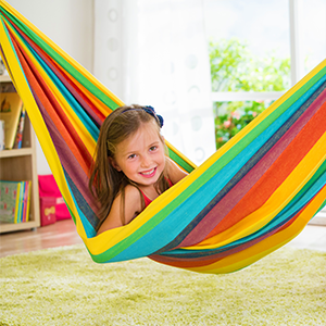 kids toys hammock crafts natural nova cotton rainbow