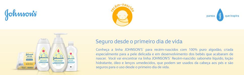 Linha Johnson's Recém Nascido