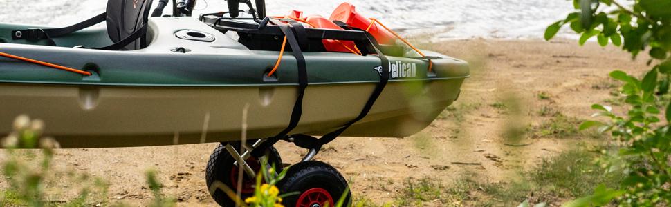 universal kayak cart pelican sport