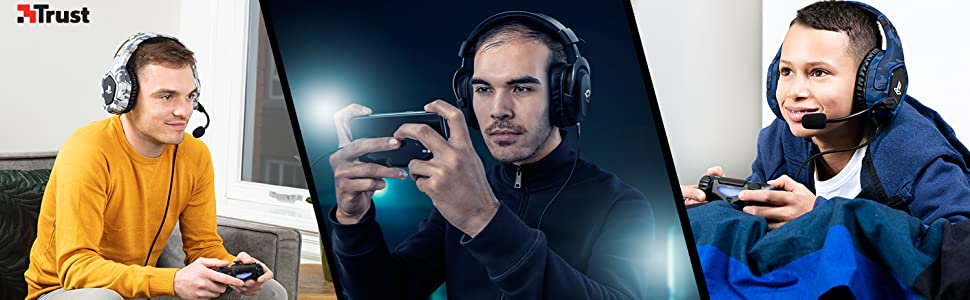 PS4 Casque Gamer