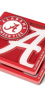 YouTheFan Alabama Logo Coaster