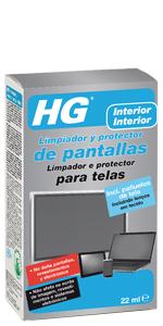 ... cristales & espejos, HG Limpiador y protector seguro de pantallas para plasma, LCD y TFT ...