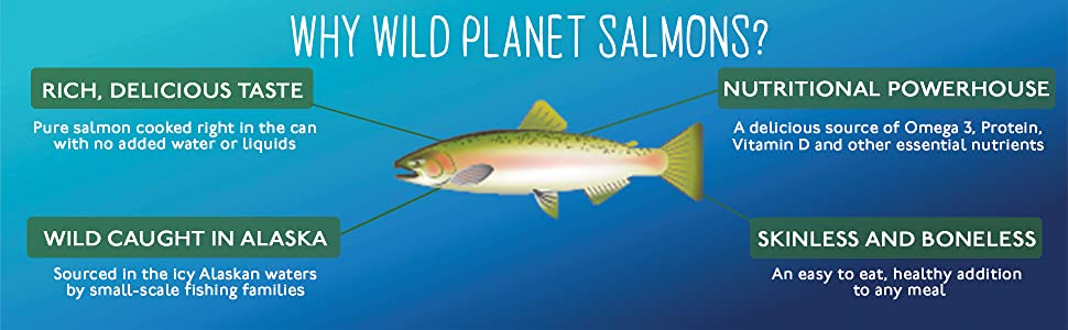 why wild planet salmons?