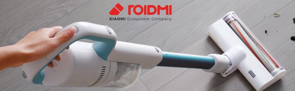 Roidmi F8 Lite - Aspirador sin cable, versión EU en Español, 80.000 RPM, batería hasta 40 minutos, depósito 0.4L, color azul: Amazon.es: Hogar