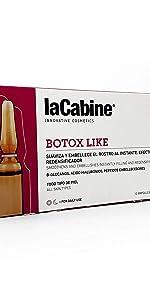 Efecto botox, ampollas botox, botox, ampollas antiarrugas, suero antiarrugas, botox facial