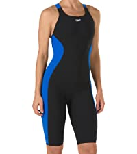 Speedo Women's Powerplus Kneeskin Swimsuit Swimsuit