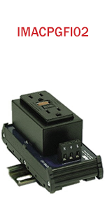 GFCI Outlet Interface Module with 2 GFI AC Receptacles