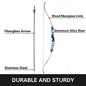 recurve bow for adults hunting bow bow and arrows archery set adult beginner