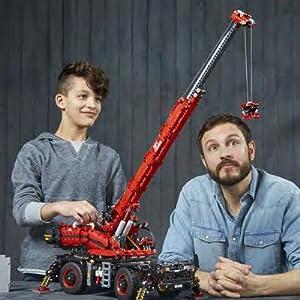 Lego 42082 Rough Terrain Crane Technic Lego Amazoncouk Toys Games
