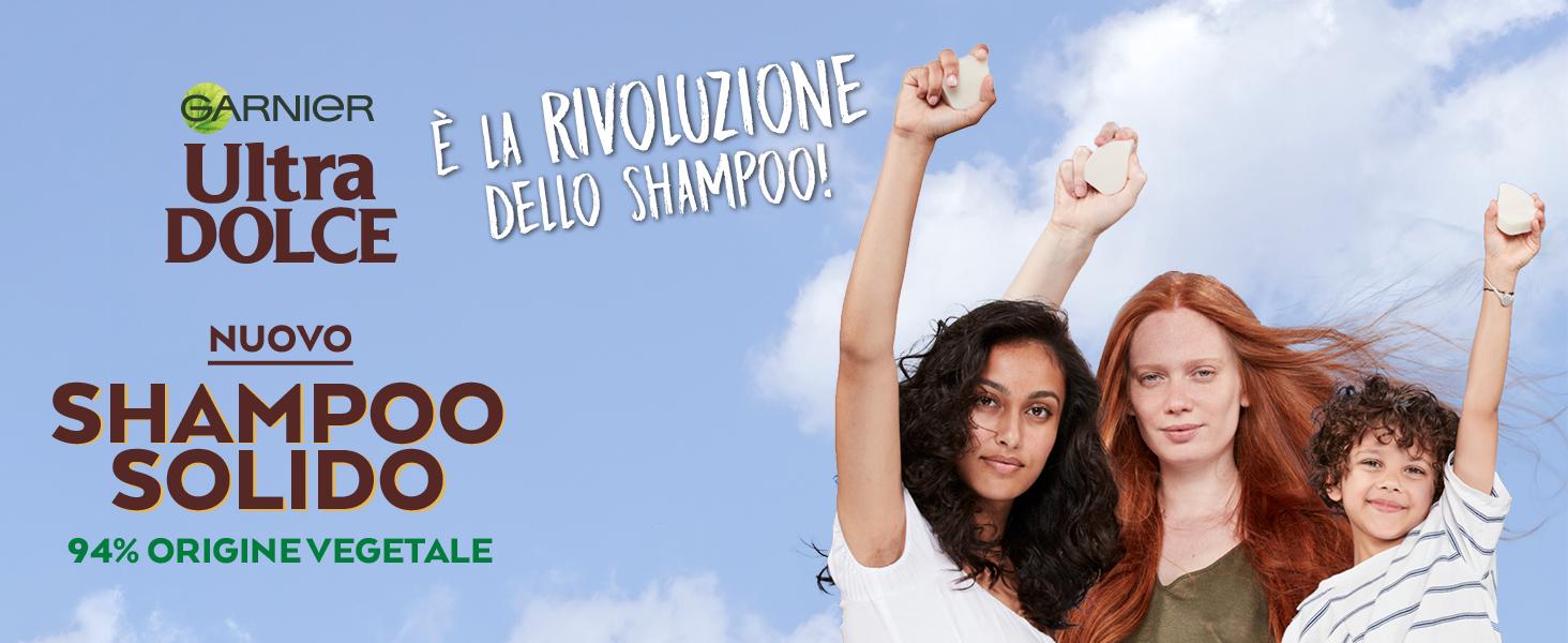 shampoo solido, shampoo solido garnier, shampoo, shampoo delicato, ecologico, senza plastica, bio
