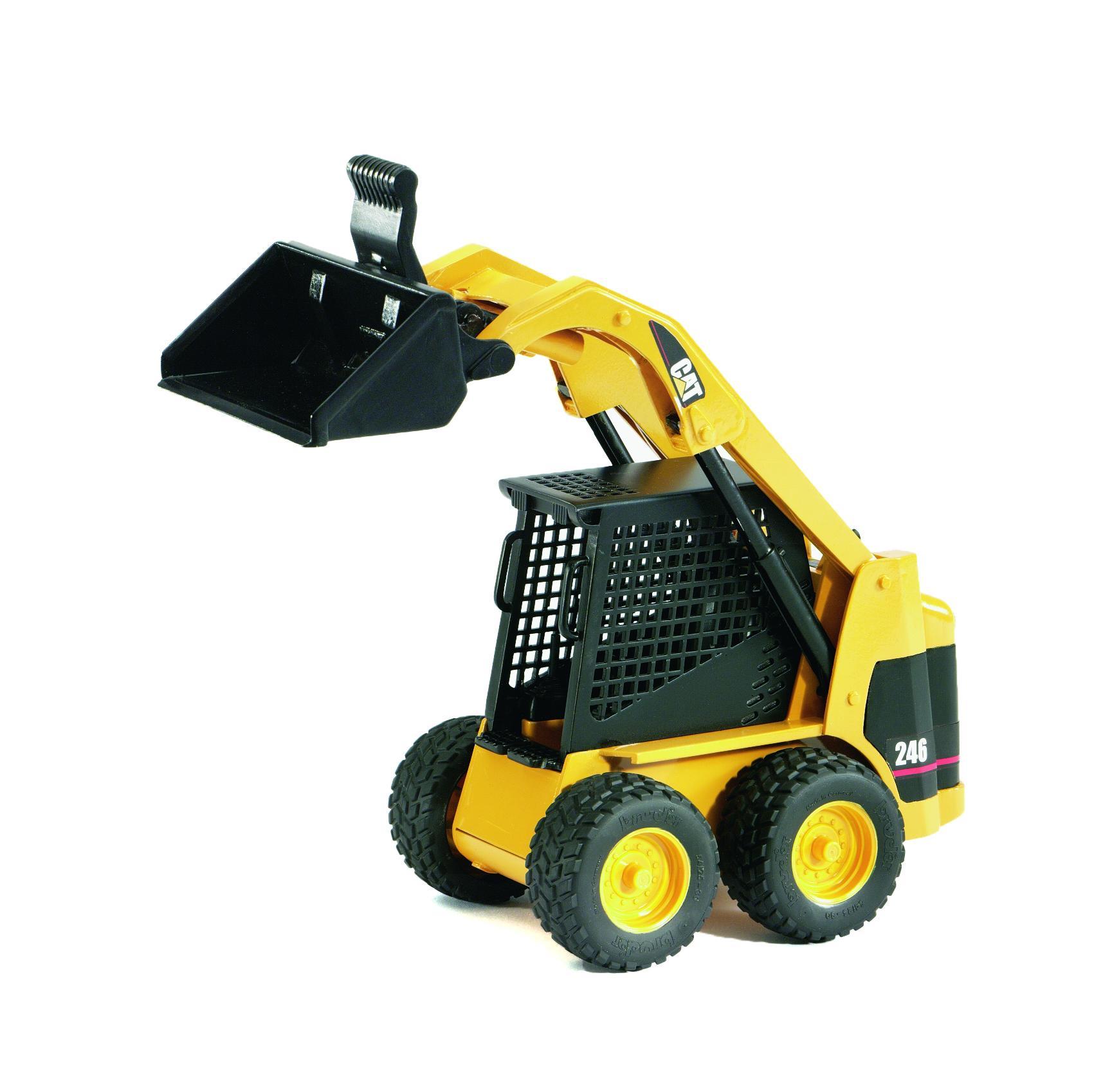 Amazon Com  Bruder 02435 Cat Skid Steer Loader  Toys  U0026 Games