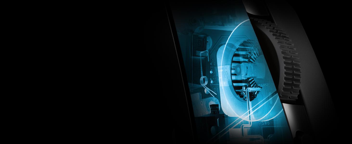Logitech G203 Prodigy, Ratón óptico para Gaming con Cable, 8.000 DPI, LED Personalizable con 16,8 M Colores