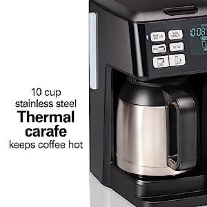 thermal coffee maker carafe