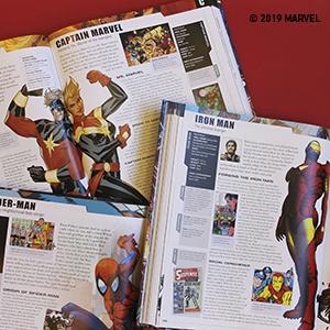 spiderman, homecoming, iron man, endgame, avengers  Marvel Encyclopedia, New Edition a440fa7e 778f 4419 b0d0 0be2055706e7