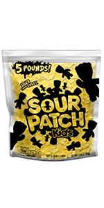Sour Patch Kids bulk 5lb flavors