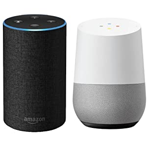 amazon, alexa, echo, google assistant, voice control, works with, try saying, smart, voice activated