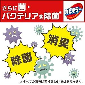 菌・バクテリアの除菌も除菌