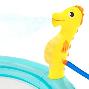 Inflatable toy toys giant dinosaur dino t-rex spray sprinkle party blowup blow up fun summer